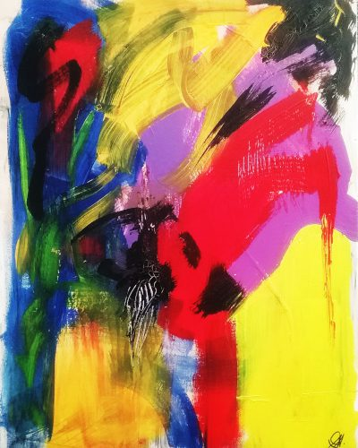 acrylic abstract painting for sale