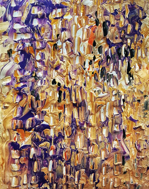 abstract painting wall art