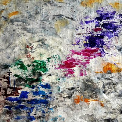 oil abstract painting bysuhail mitoubsi