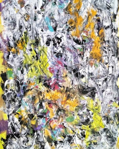 contemporary acrylic abstract painting for sale